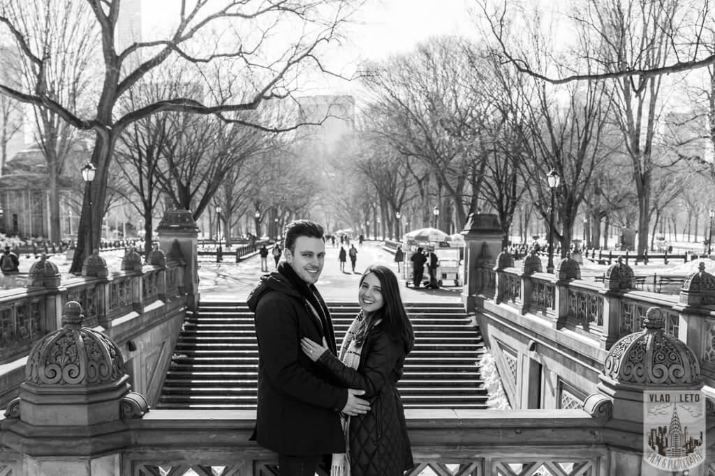 Photo 6 Marriage proposal under Gapstow bridge   VladLeto