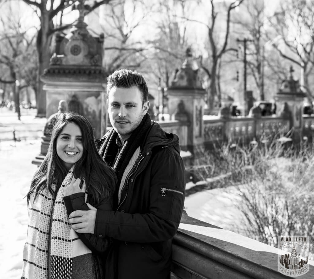 Photo 11 Marriage proposal under Gapstow bridge   VladLeto