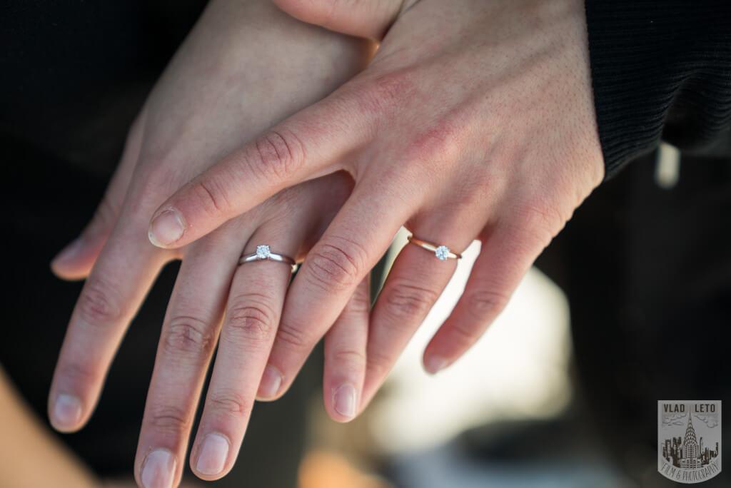 Photo 9 Same Sex proposal by Brooklyn Bridge + Engagement in Central Park | VladLeto