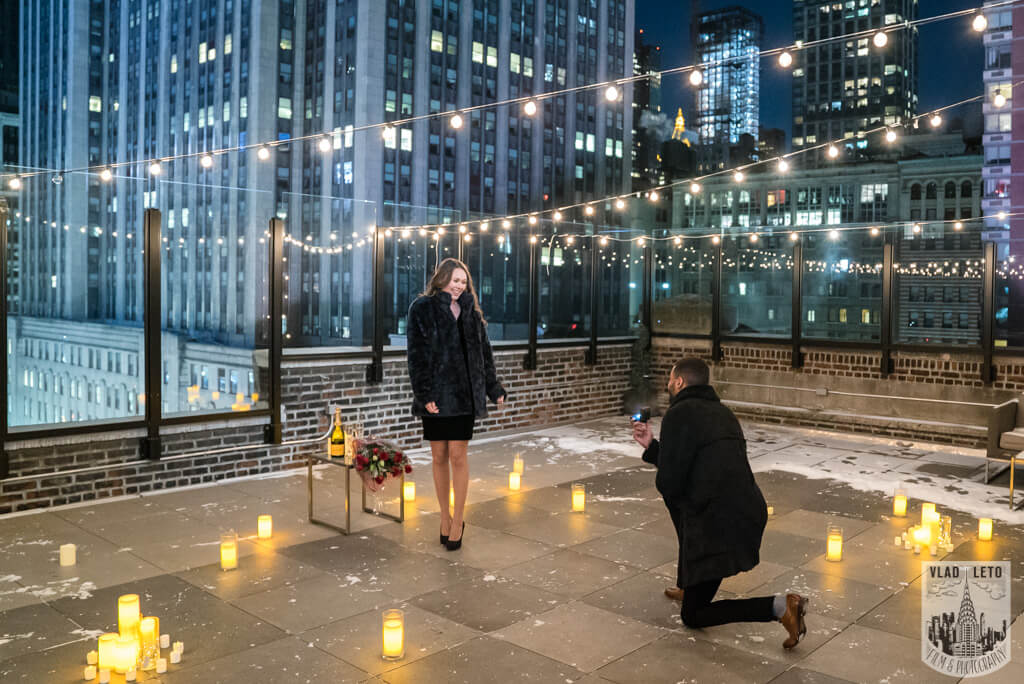 Photo Private Rooftop Proposal | VladLeto
