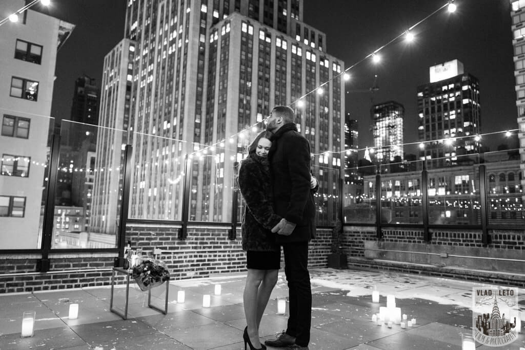 proposal  at empire state building