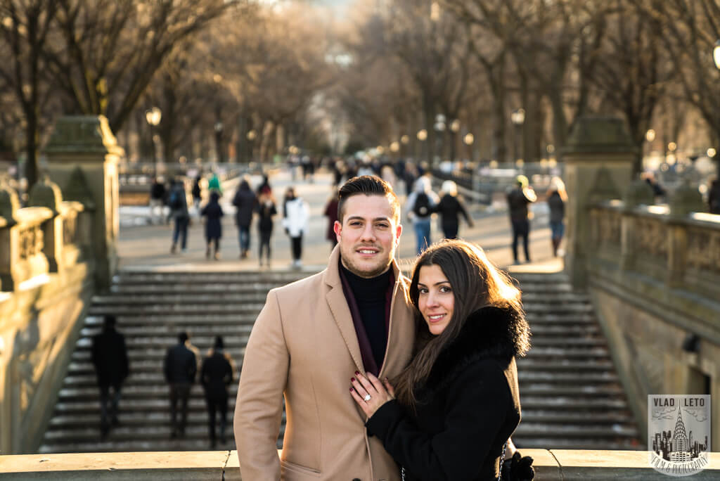 Best engagement photographer in NYC