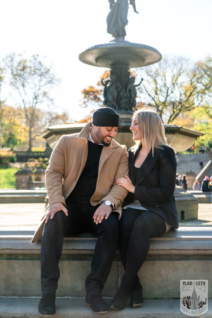 Photo 15 How he Asked featured Proposal story from Central Park | VladLeto