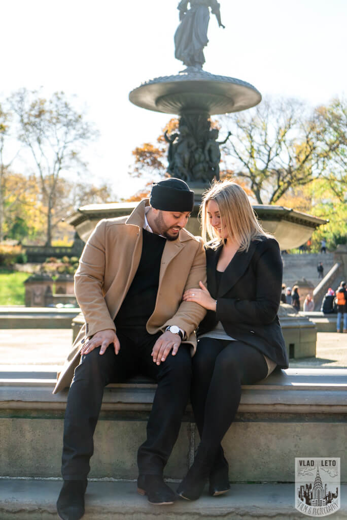 Photo 10 How he Asked featured Proposal story from Central Park | VladLeto