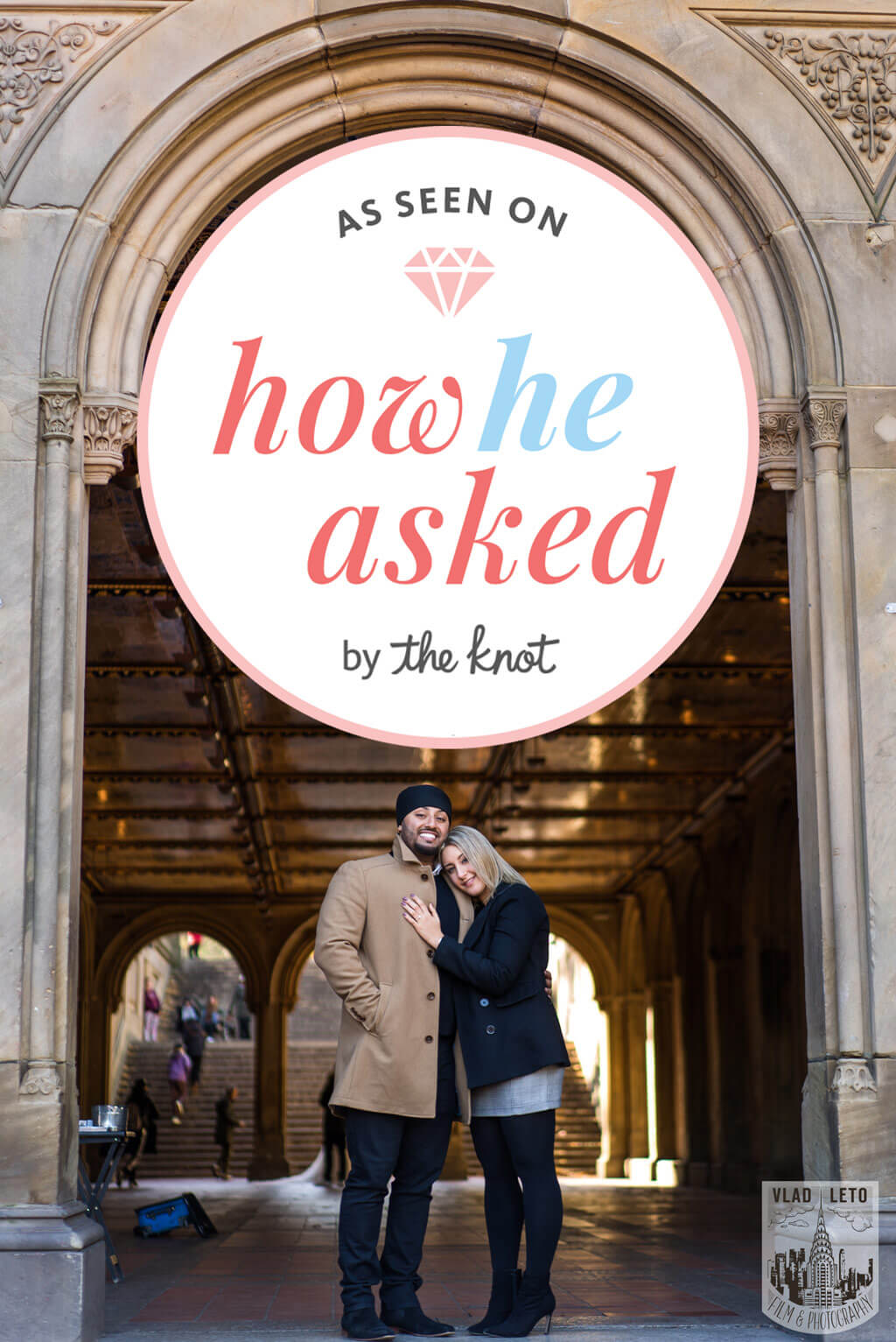 Photo 19 How he Asked featured Proposal story from Central Park | VladLeto