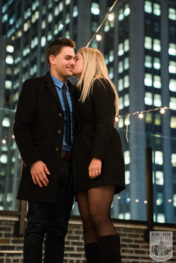 Photo 6 Private Rooftop Proposal with Empire State Building view