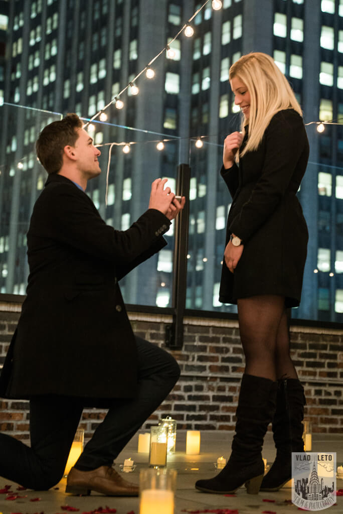 Photo 2 Private Rooftop Proposal with Empire State Building view