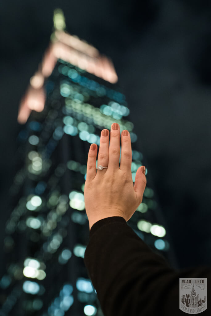 Photo 12 Private Rooftop Proposal with Empire State Building view