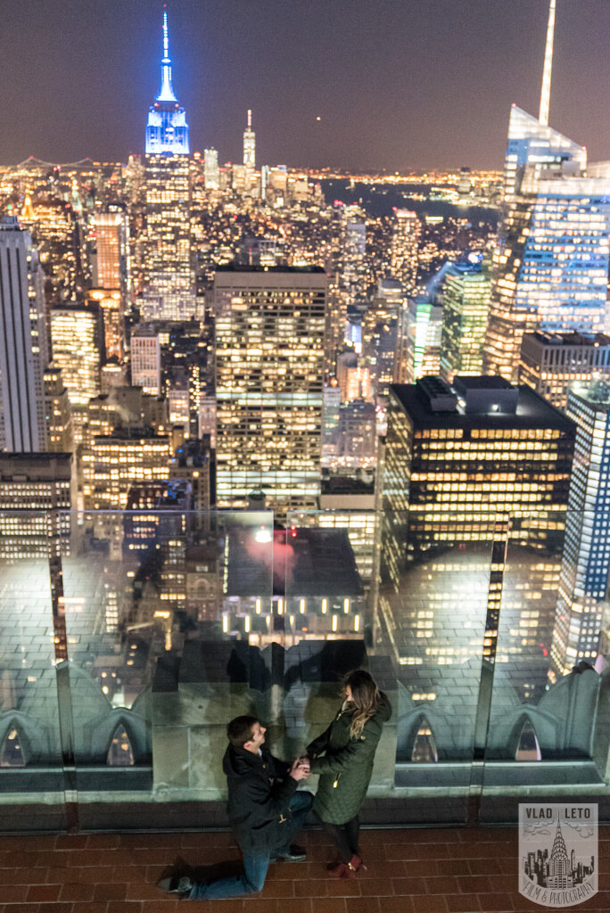 Photo 24 Top of the Rock Marriage Proposal 2