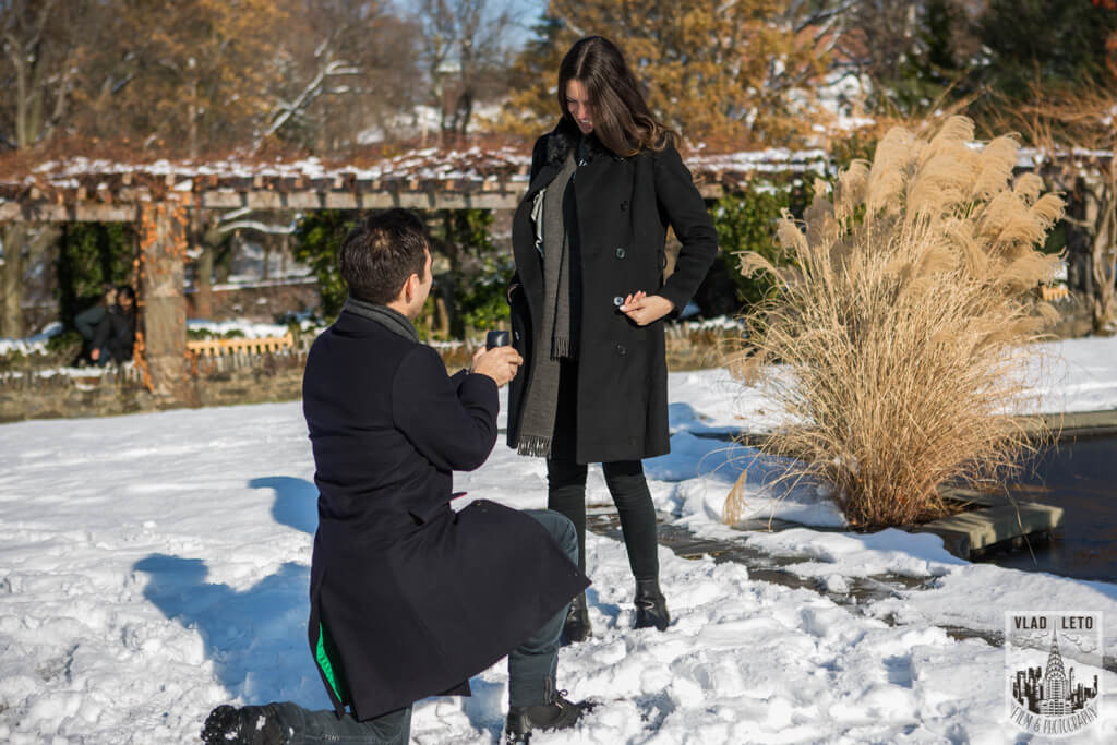Proposal photographer in NYC Vlad Leto