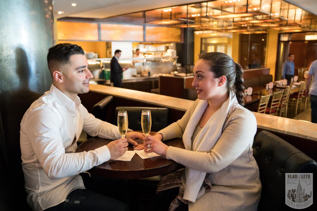 Photo 9 Proposal at the Rink at Rockefeller Center | VladLeto