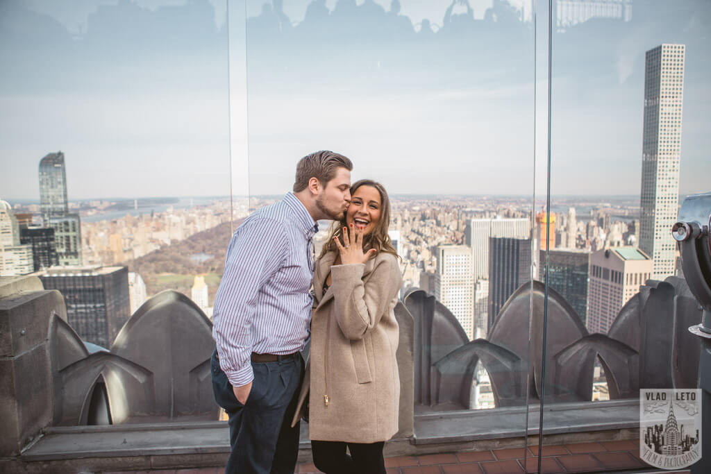Photo 9 Top of the Rock Marriage Proposal 3 | VladLeto