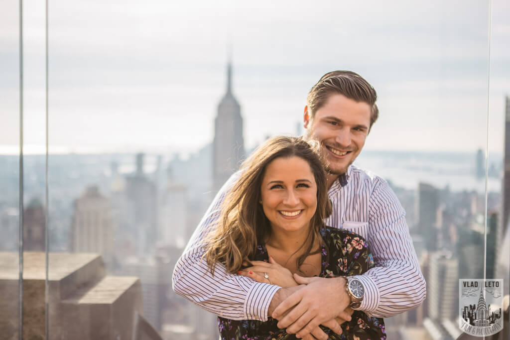 Photo 8 Top of the Rock Marriage Proposal 3 | VladLeto