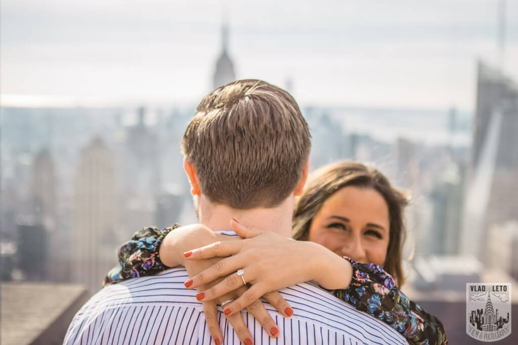 Photo 11 Top of the Rock Marriage Proposal 3   VladLeto