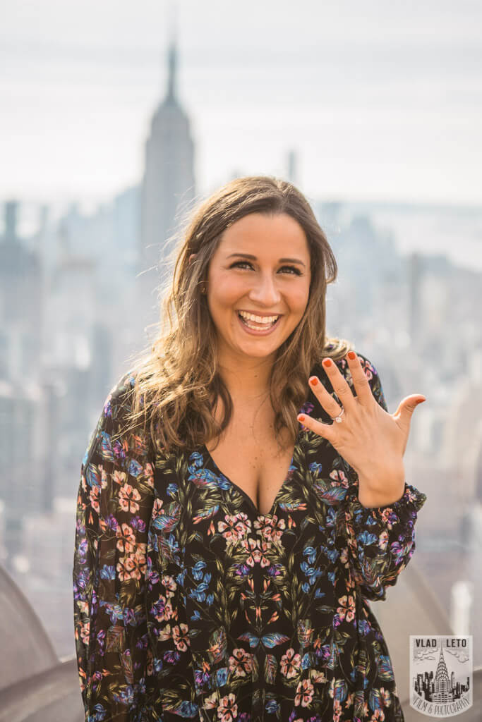 Photo 19 Top of the Rock Marriage Proposal 3 | VladLeto