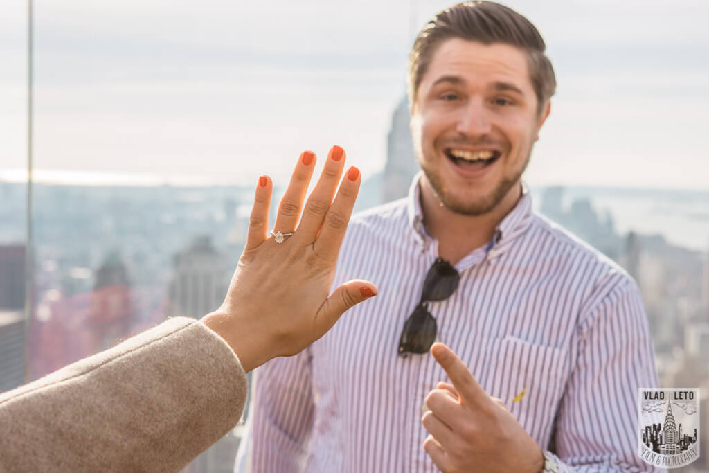 Photo 10 Top of the Rock Marriage Proposal 3 | VladLeto