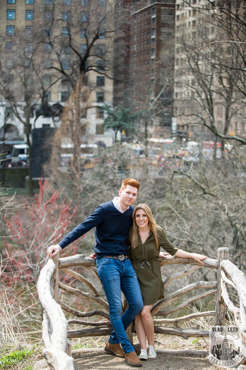 Photo 9 Central Park Surprise Proposal under Gapstow bridge.   VladLeto