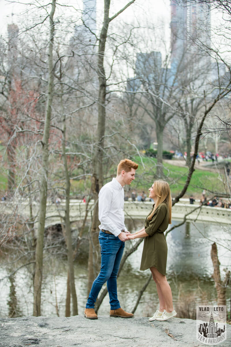 Photo 7 Central Park Surprise Proposal under Gapstow bridge. | VladLeto