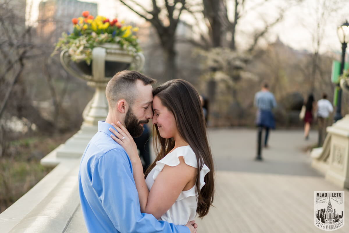 Photo 9 Central Park Marriage Proposal at The Lake Viewing Area | VladLeto