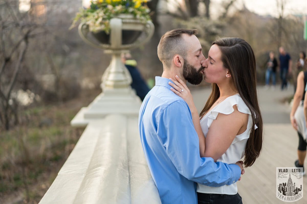 Photo 7 Central Park Marriage Proposal at The Lake Viewing Area | VladLeto