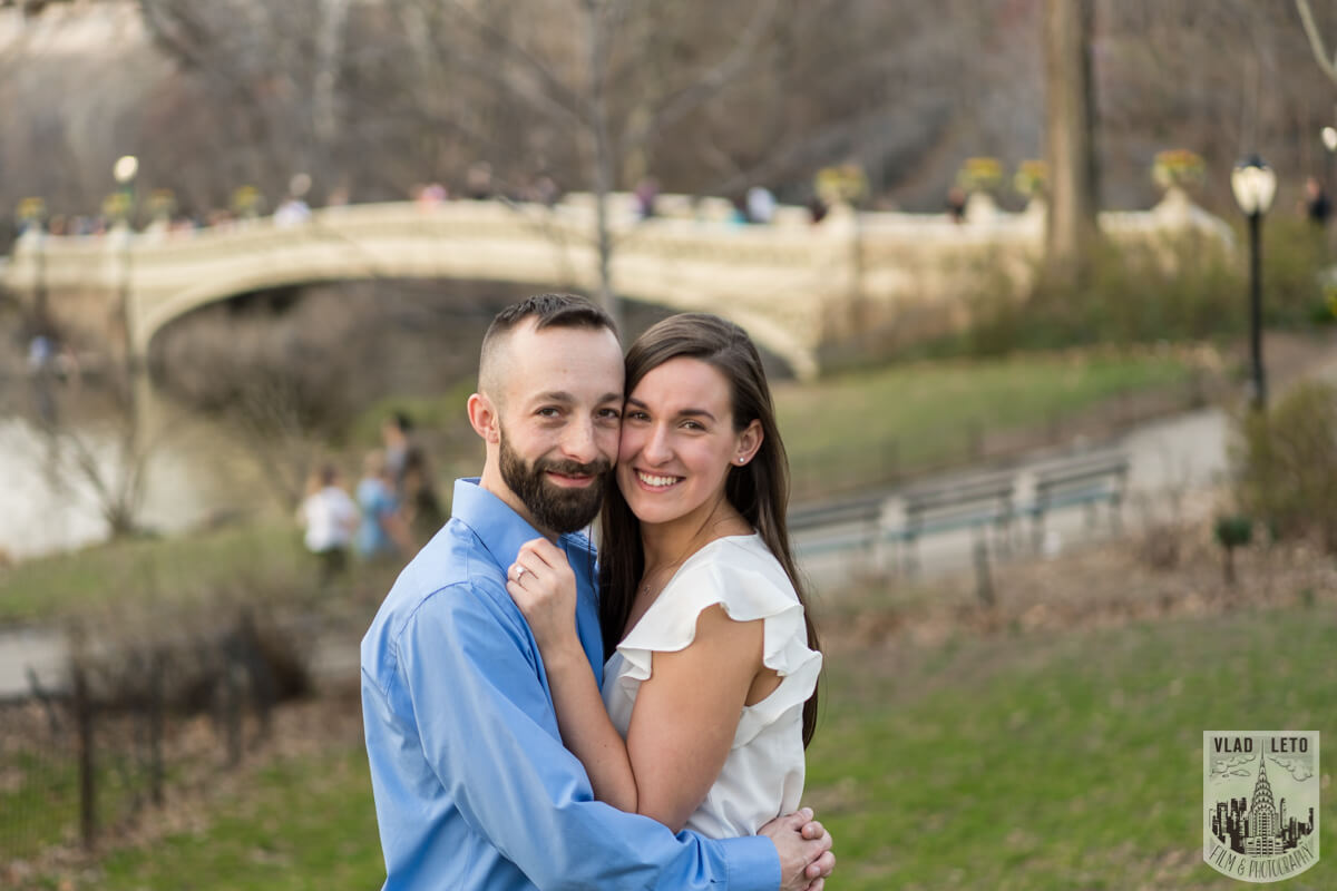 Photo 8 Central Park Marriage Proposal at The Lake Viewing Area | VladLeto