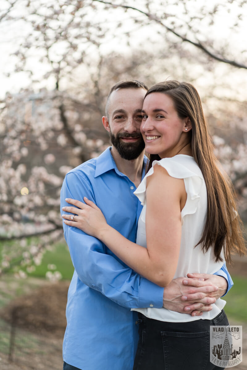 Photo 10 Central Park Marriage Proposal at The Lake Viewing Area | VladLeto