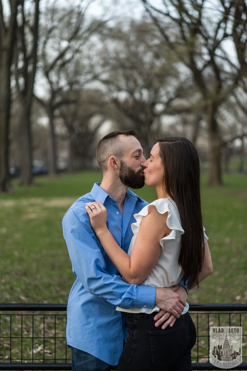 Photo 11 Central Park Marriage Proposal at The Lake Viewing Area | VladLeto
