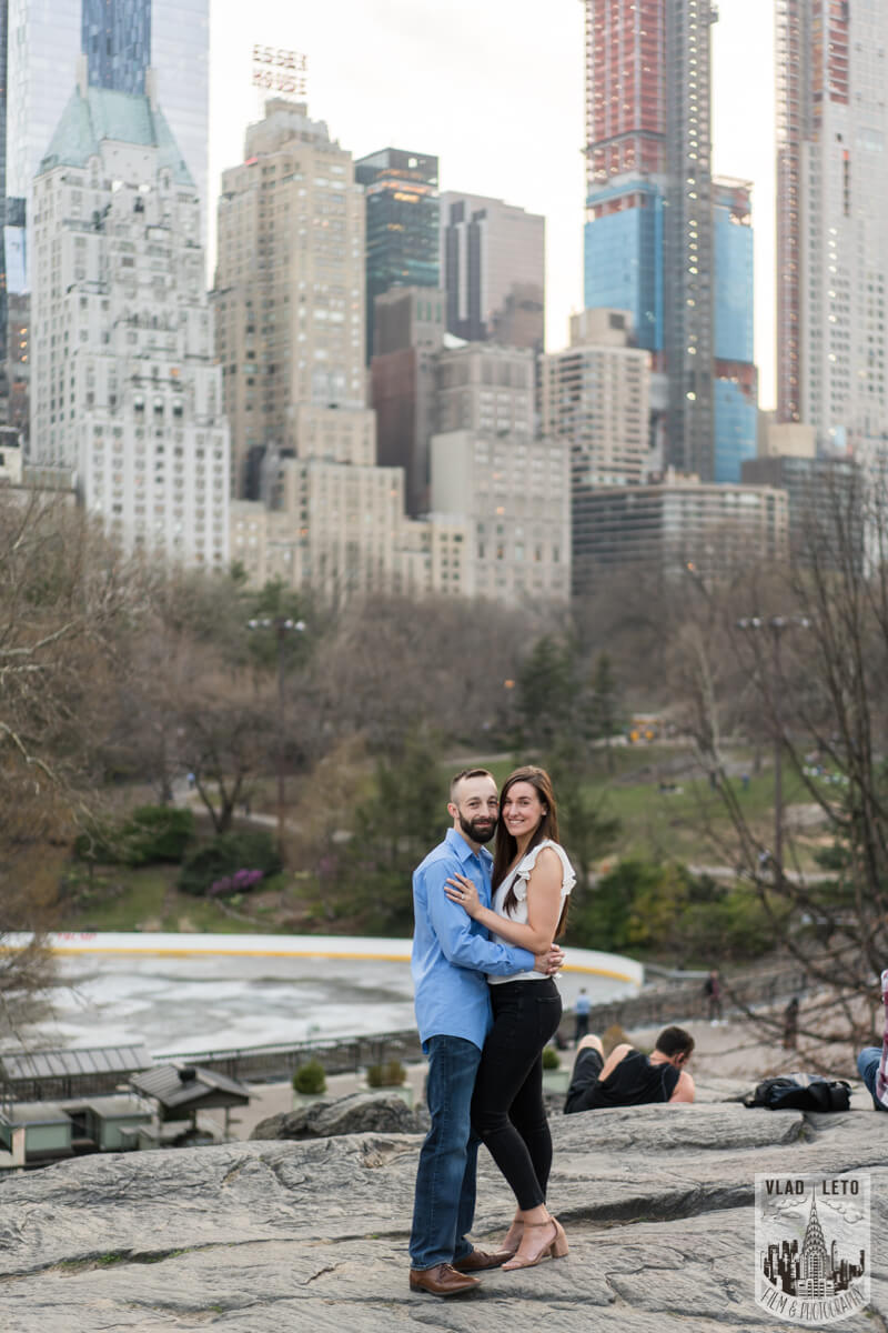 Photo 15 Central Park Marriage Proposal at The Lake Viewing Area | VladLeto