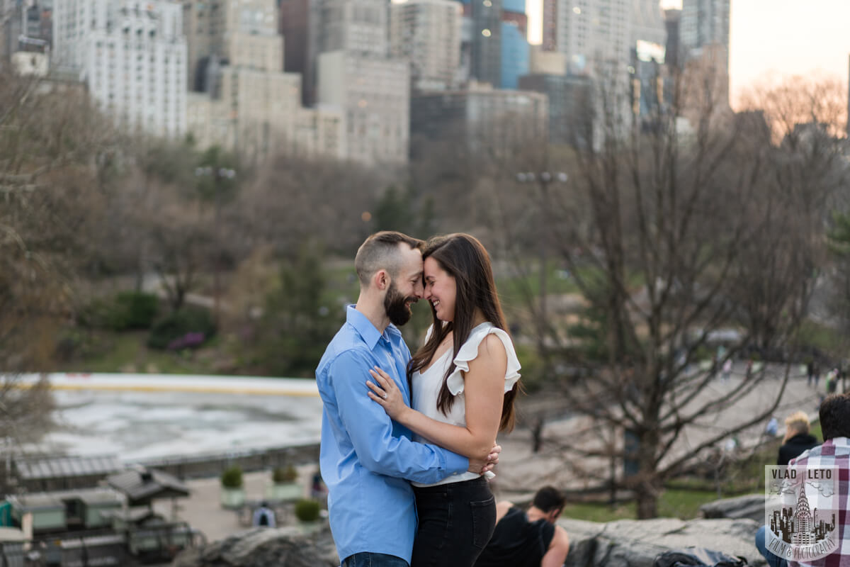 Photo 16 Central Park Marriage Proposal at The Lake Viewing Area | VladLeto