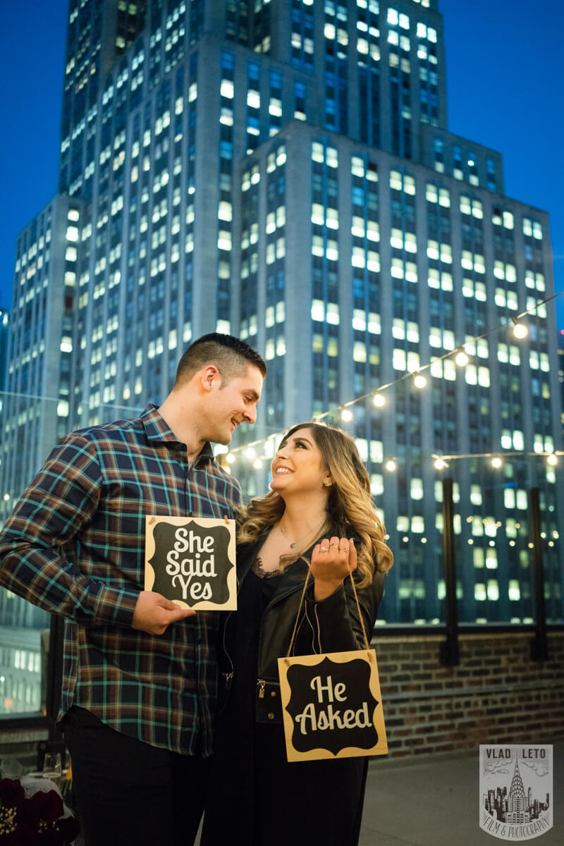 Photo 14 Empire state building view Surprise Marriage Proposal | VladLeto