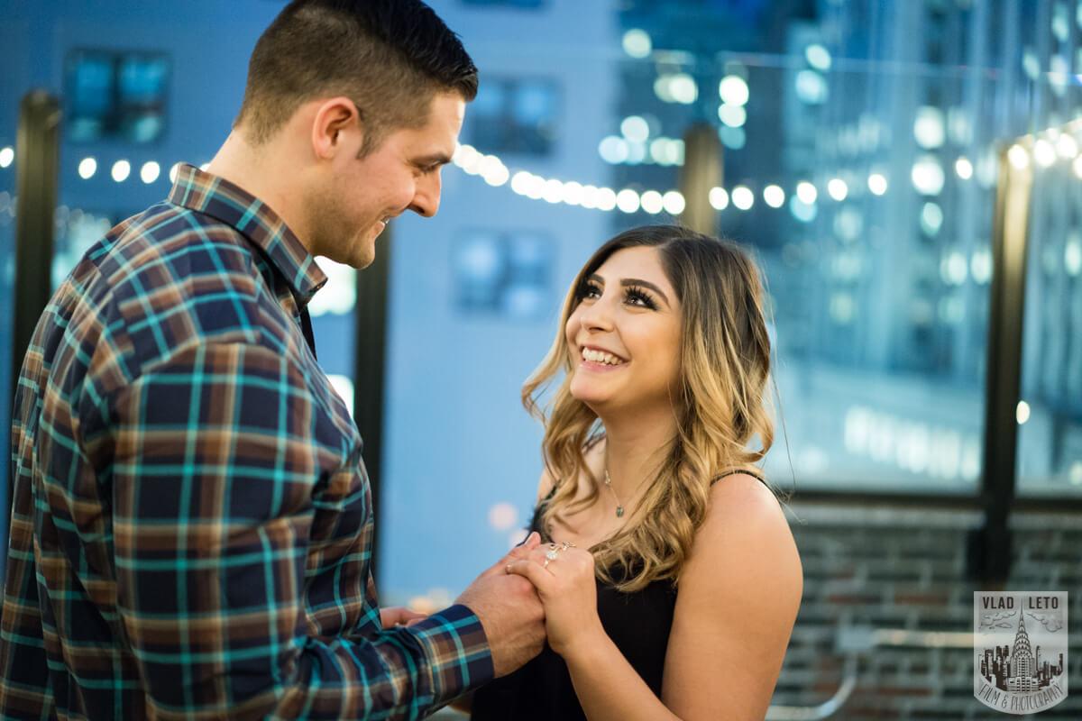 Photo 27 Empire state building view Surprise Marriage Proposal | VladLeto