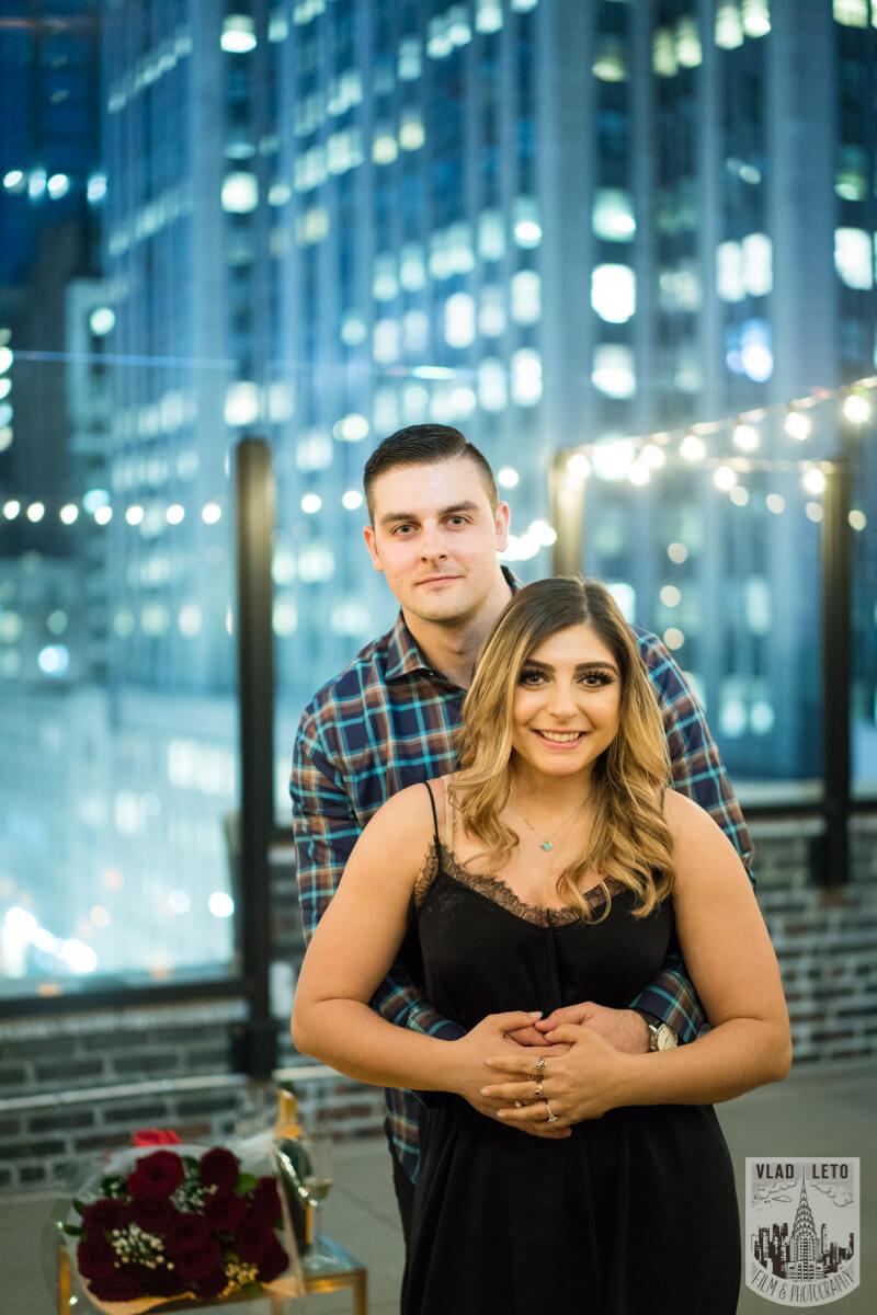 Photo 21 Empire state building view Surprise Marriage Proposal | VladLeto