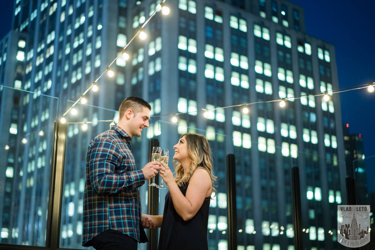 Photo 8 Empire state building view Surprise Marriage Proposal | VladLeto