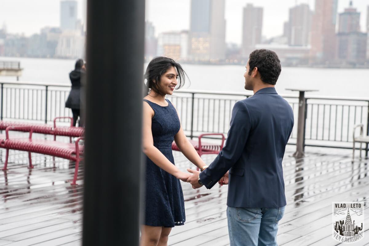 Photo Jersey City Marriage Proposal | VladLeto