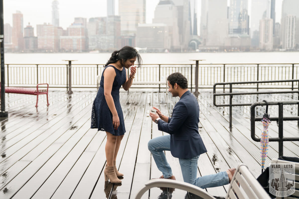 Photo 7 Jersey City Marriage Proposal | VladLeto