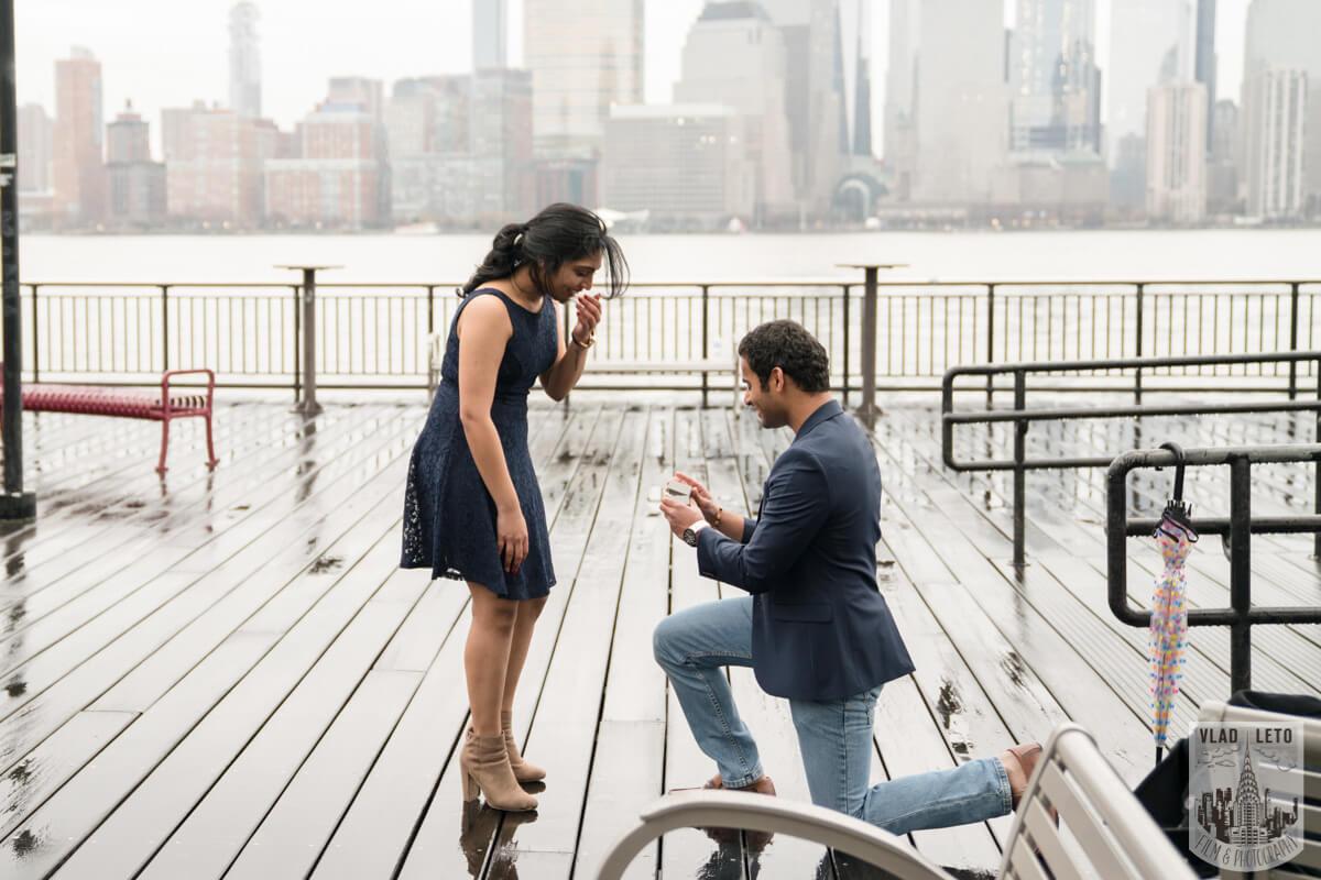 Photo 4 Jersey City Marriage Proposal | VladLeto