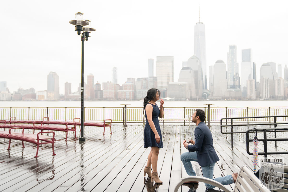 Photo 4 Jersey City Marriage Proposal | VladLeto