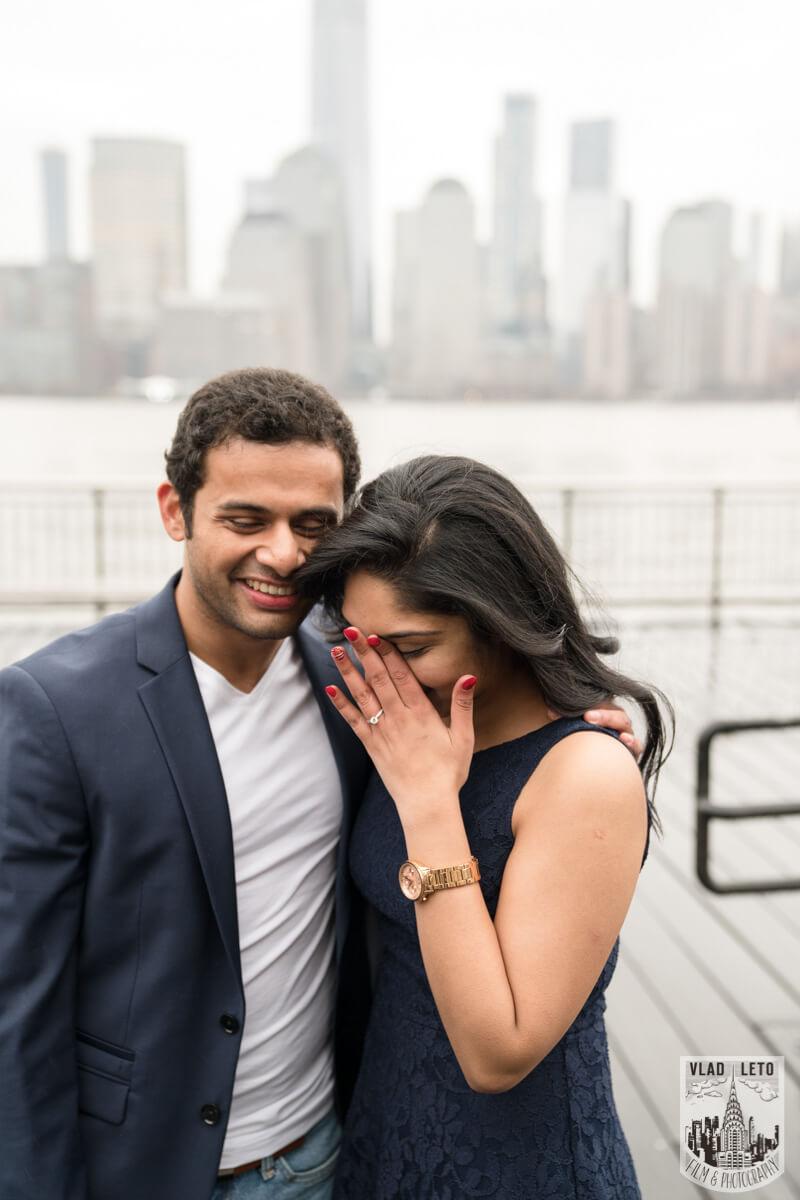 Photo 9 Jersey City Marriage Proposal | VladLeto