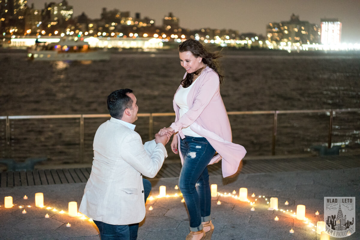 Photo 5 Marriage proposal at Pier 15 with mariachi band, NYC | VladLeto