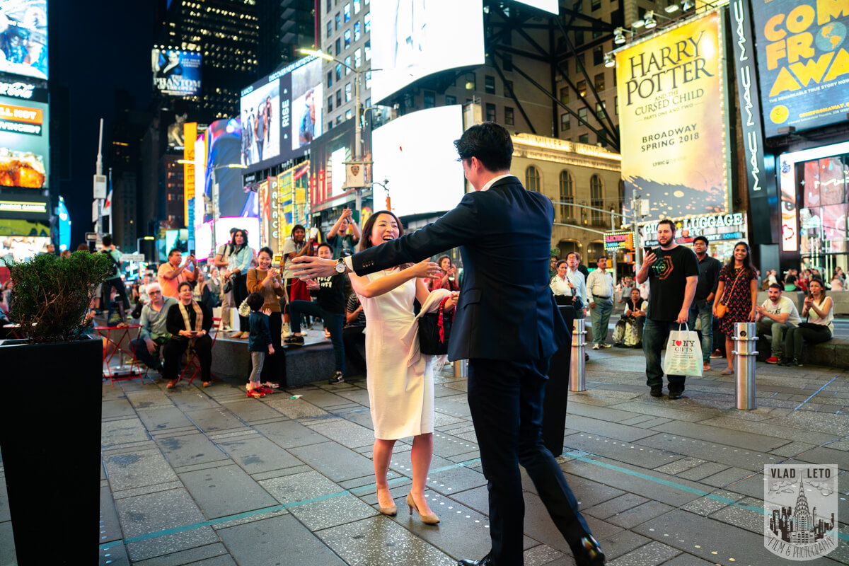 Photo 3 Times square proposal | VladLeto