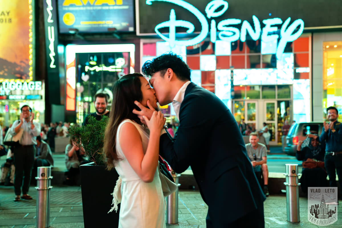 Photo 4 Times square proposal | VladLeto