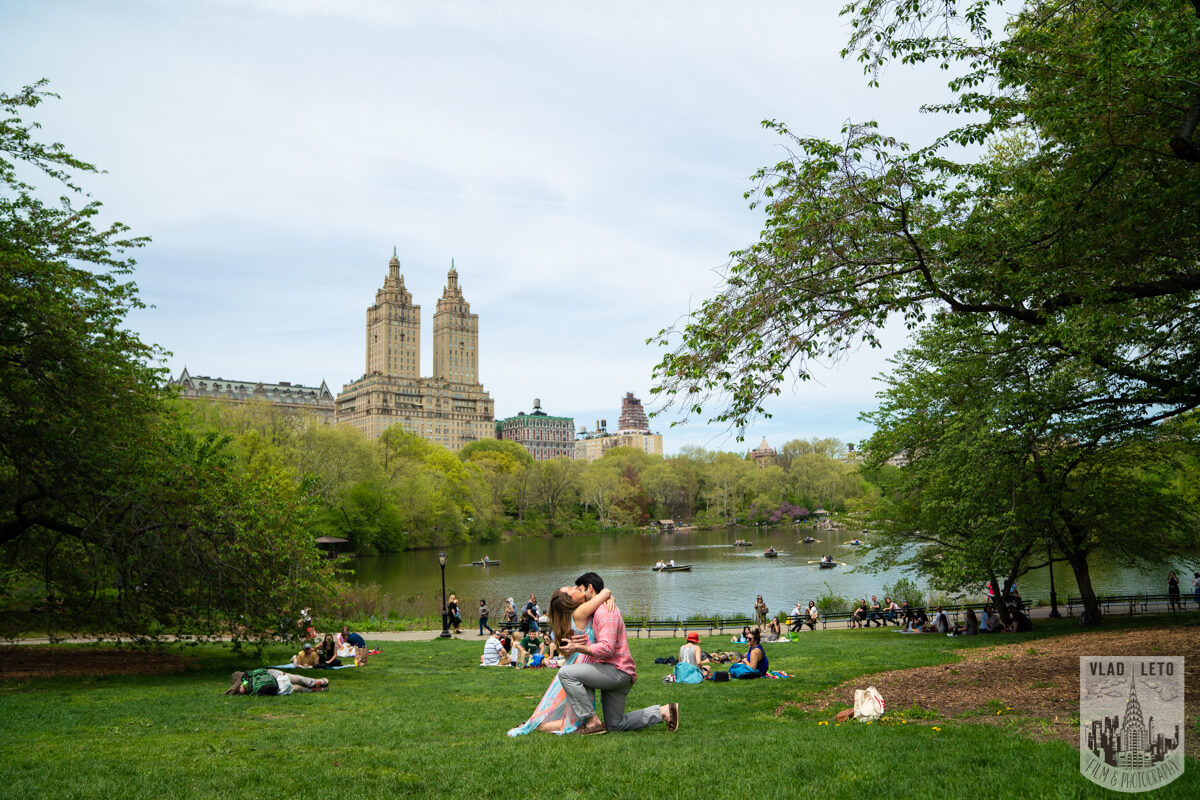 Best spots for proposal in Central Park