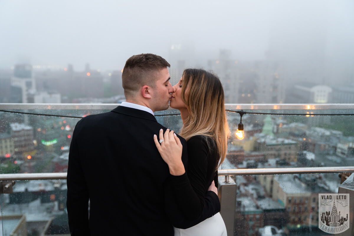 Photo 9 Surprise Proposal on a rooftop in Downtown Manhattan. | VladLeto