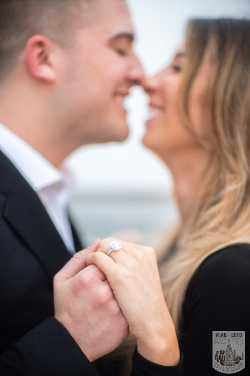 Photo 19 Surprise Proposal on a rooftop in Downtown Manhattan. | VladLeto
