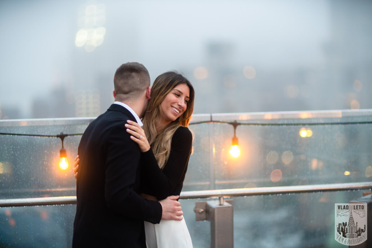 Photo 27 Surprise Proposal on a rooftop in Downtown Manhattan. | VladLeto
