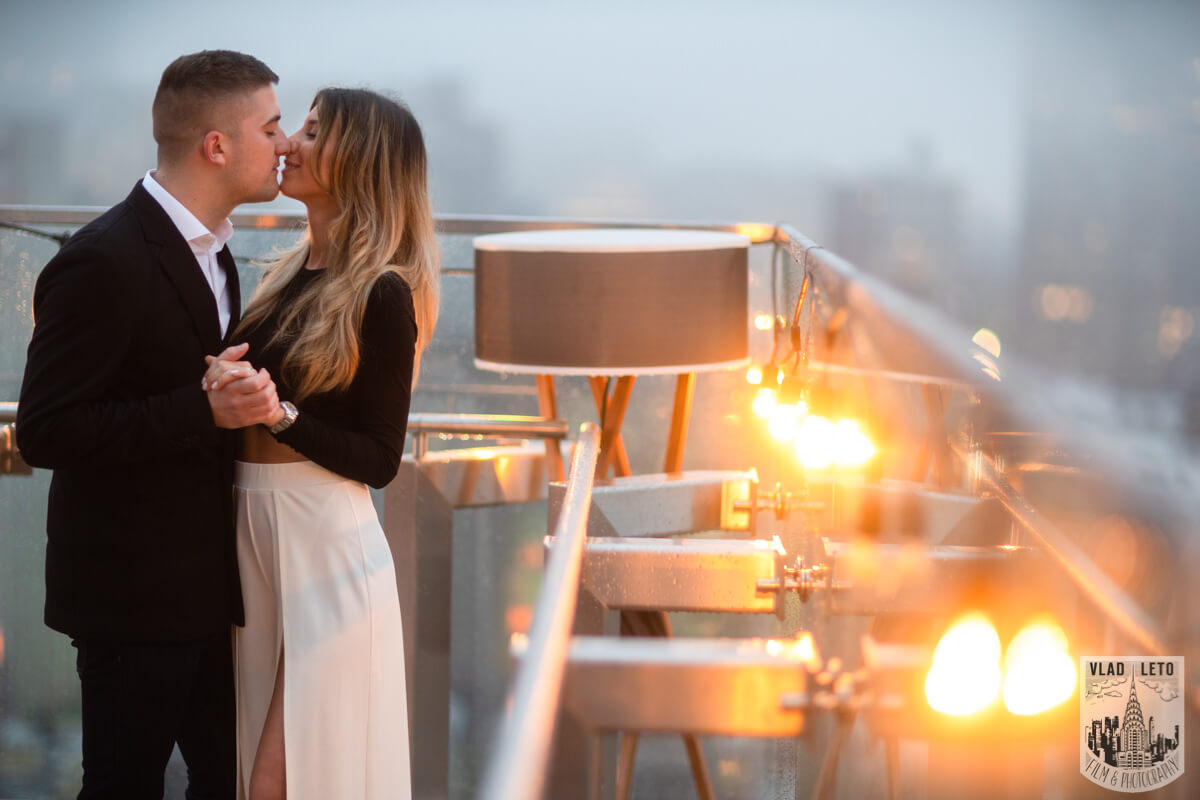 Photo 29 Surprise Proposal on a rooftop in Downtown Manhattan. | VladLeto
