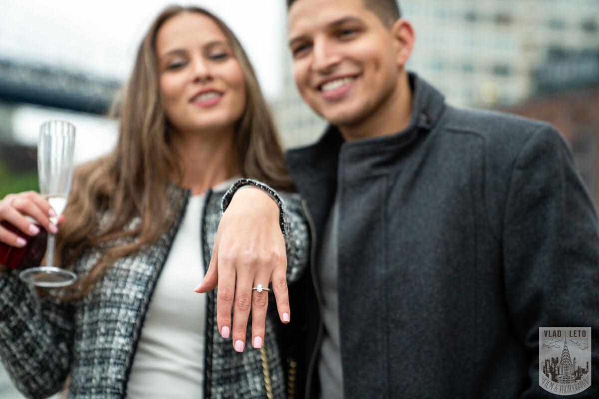 Photo 6 Surprise Marriage Proposal in Dumbo, Brooklyn | VladLeto