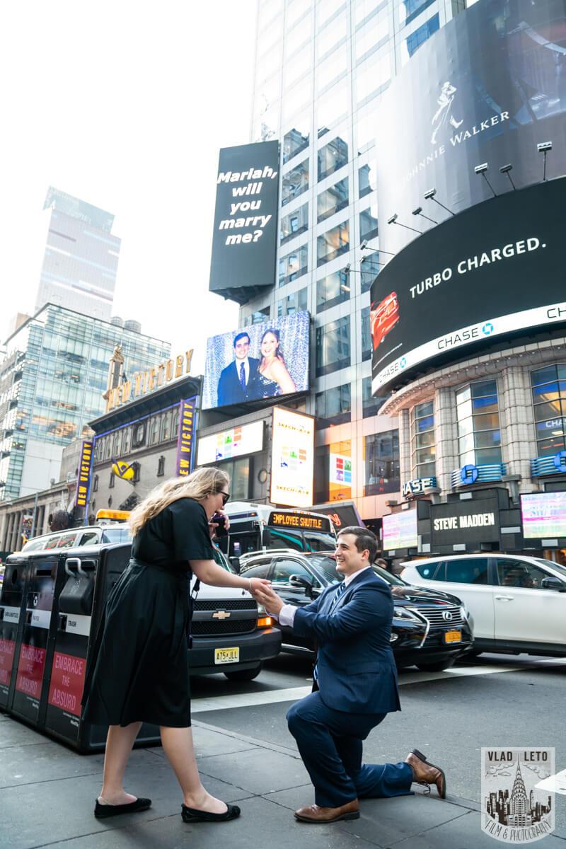 Photo Times Square Billboard Proposal