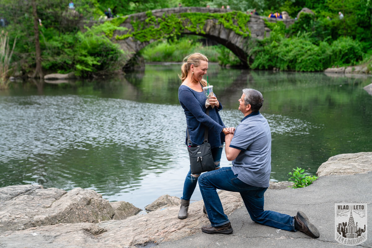 secret proposal in central park