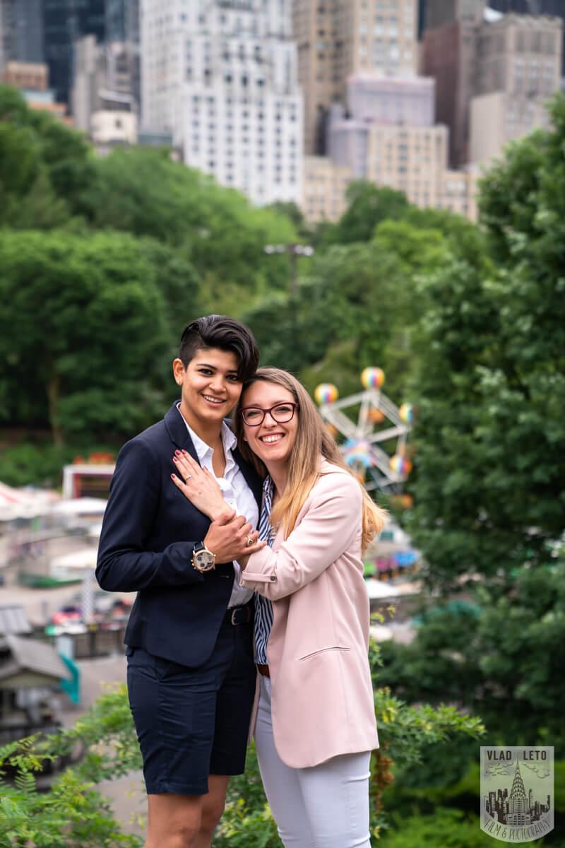 Photo 5 Same Sex Proposal in Central Parks   VladLeto